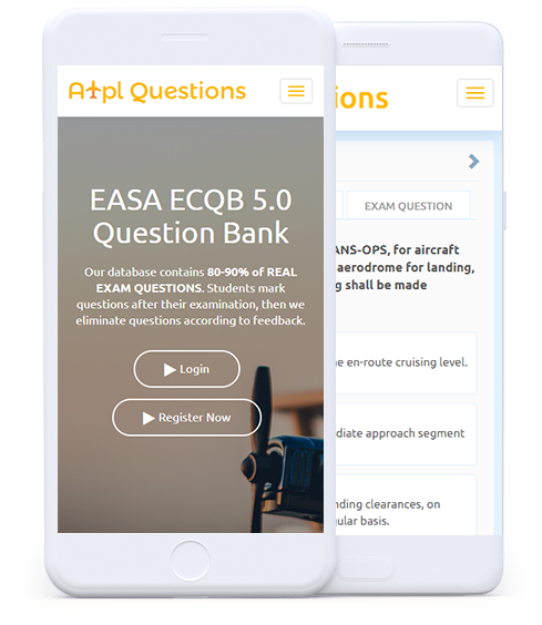 EASA ATPL QUESTIONS DATABASE